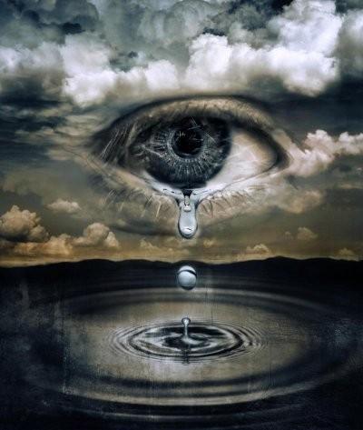 Ange Qui Pleure non jamais ça ton oeil qui pleure