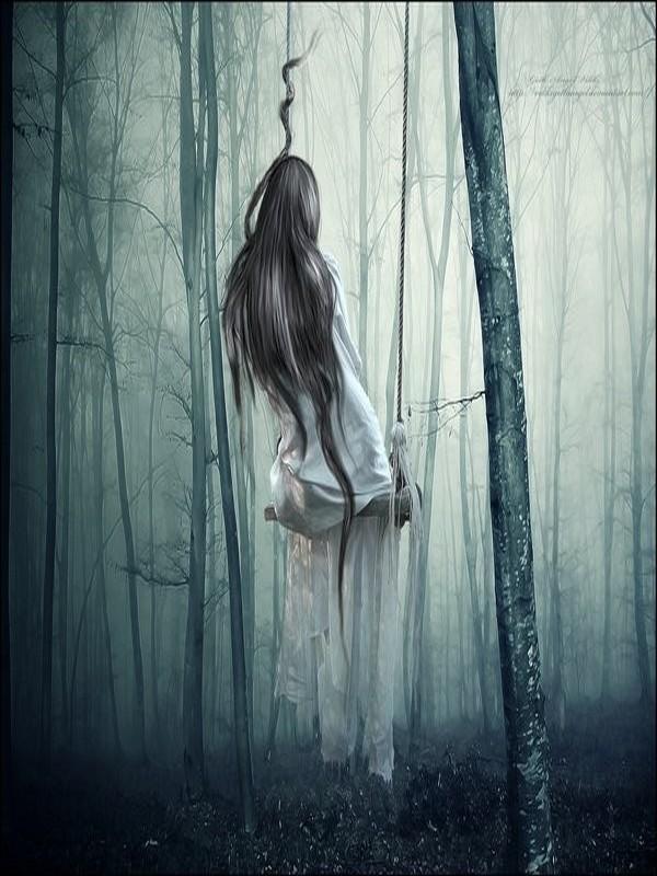 Triste sur une balan oire - Photo noir et blanc femme de dos ...