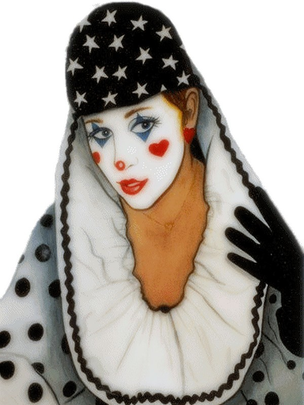 Maquillage clown femme facile - Maquillage de clown facile ...